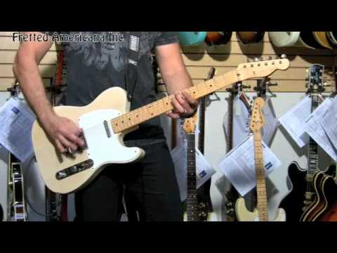 1957 Fender Telecaster 01076 Music Videos