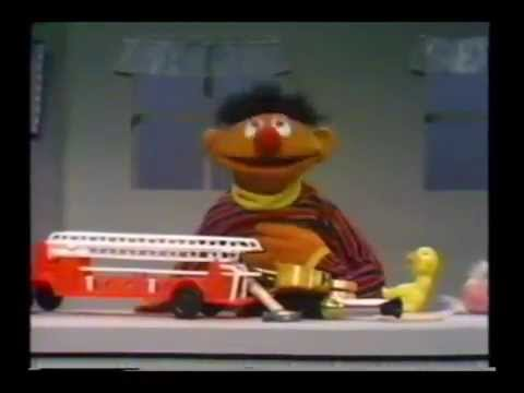 Sesame Street - Ernie Puts Away His Toys