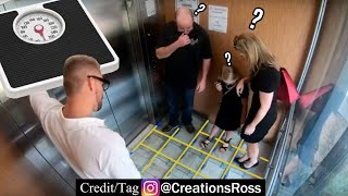 Covering an Elevator Floor with Scales and Forcing People to Weigh Themselves