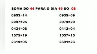ANOTAÇÕES PARA O JOGO DO BICHO 19 DE AGOSTO