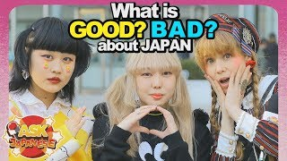 What do Japanese LOVE / HATE about Japan? Ask Bunka College girls and boys about their opinion.