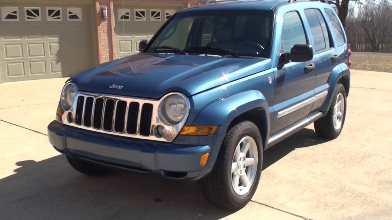 Hd video 2006 jeep liberty limited 4x4 blue used for sale info see www sunsetmotors com youtube
