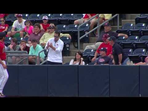 Marriage proposal at Ole Miss baseball game caught on RebelVison