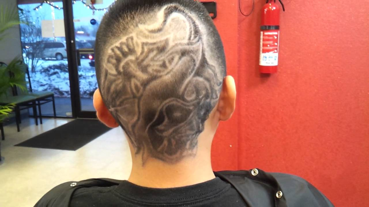 Barber haircut designs for men