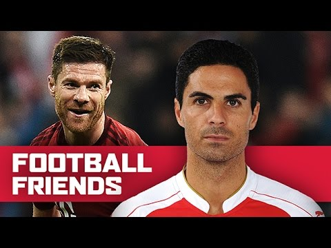 Football Friends: Mikel Arteta & Xabi Alonso