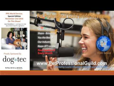 Pet Professional Guild World Services, Special Edition with Jean Donaldson