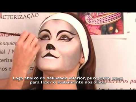 Maquiagem Artistica Passo a Passo Aula de Maquiagem Art Stica