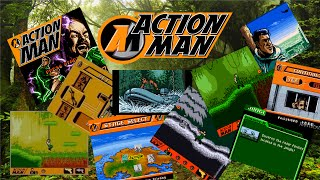 Action Man Search for base X - (Not so) Classic Games!