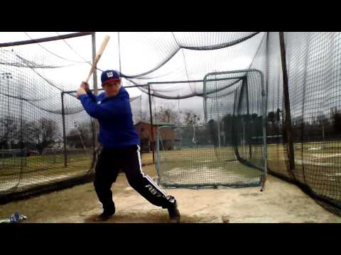 Hitting Soft Toss - Chandler Yawn (Westside High School)