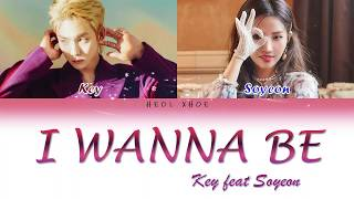 Download KEY ft SOYEON of GIDLE  I WANNA BE LYRIC HANROMENG MP3