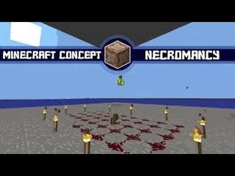 Minecraft Concept: Necromancy in Vanilla Minecraft