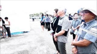 2017年5月16日ダイヤモンドプリンセス号11万トンが石垣港に寄港