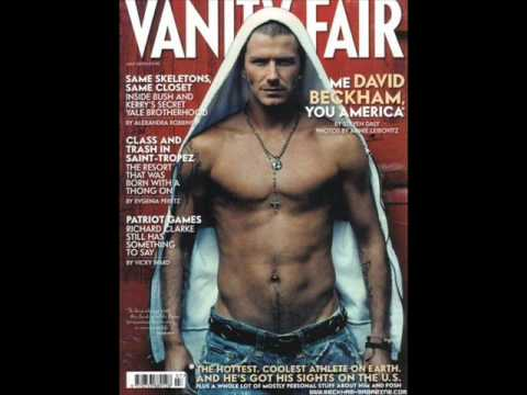 DAVID BECKHAM SHIRTLESS Hot Pictures