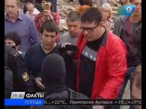 Снос самостроя с проданными квартирами в Краснодаре