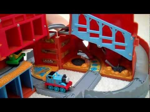 Take Along Take N Play Thomas & Friends Sodor Mine with Sounds Kids Toy Train Set Thomas The Tank