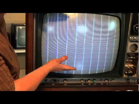 Understanding The Basics Of 1960 U0026 39 S Color Tv Set-up And Alignment