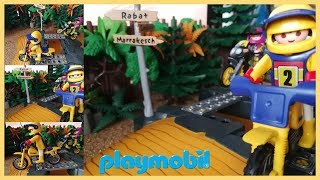 Motos de Playmobil Motocross 🏍 Videos de Motos para Niños 🎁