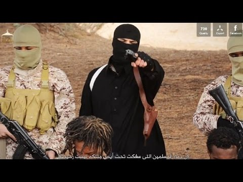 ISIS has posted a video in which it claims it is beheading Ethiopian Christians.