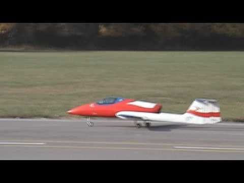 The Short Goodbye (RC jet crash)