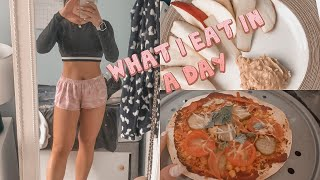 WHAT I EAT IN A DAY TO STAY HEALTHY DURING LOCKDOWN| + ab work out