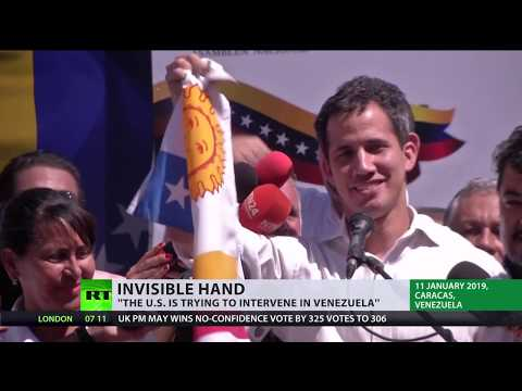 US 'trying to intervene' in Venezuela... to 'save' its people