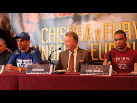 CHRIS EUBANK JNR - 'IM WILLING TO DIE IN THE RING TO PROTECT MY RECORD' / BAD BLOOD