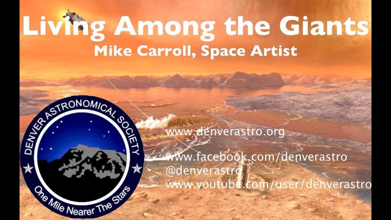 Michael Carroll Artist Mike Carroll Space Artist