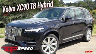 Avaliação Volvo XC90 T8 Hybrid | Canal Top Speed
