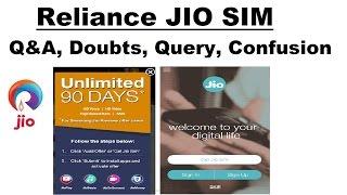 Reliance GET JIO SIM ! Q&A, Doubts, Query, Confusion ! Tech Dekho