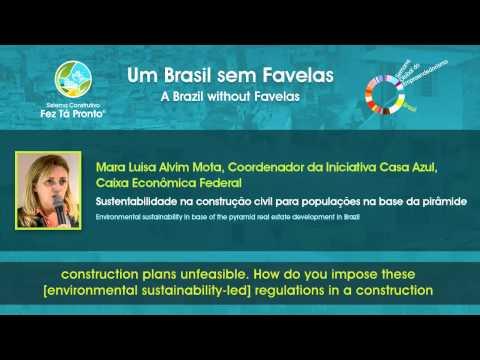 Um Brasil sem Favelas - Selo