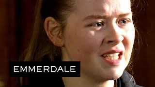 Emmerdale - Liv Shouts at Her Own Solicitor at the Ketamine Trial