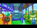 download mp3 dan video Party Bus For Children | Double Decker Indoor Playground | Gecko's Real Vehicles
