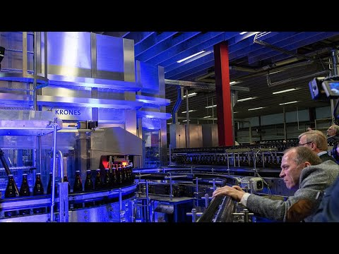Revolution in beer bottling with the Krones Dynafill