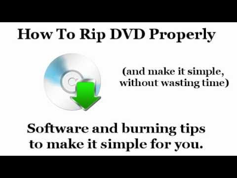 Best DVD Ripping Software + How to Rip DVDs - PC & Mac
