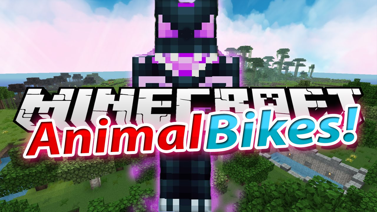 Animal Bikes Mod Minecraft 1.7.10 Animal BIKES MOD