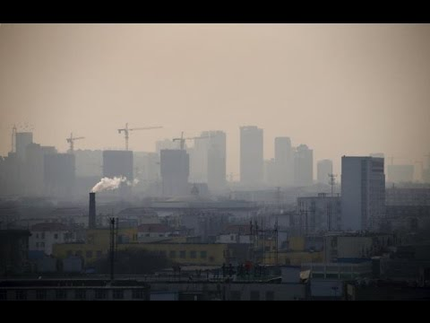 China's choking air pollution getting better, Greenpeace