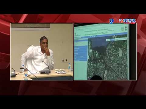 ISRO To Set Up Water Resources Information System In Telangana | Minister Harish Rao - Express TV