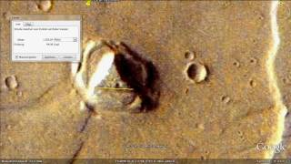 Google Earth HD 2011 - Places and the UFO disclosure (8/9) Bonus Moon & Mars