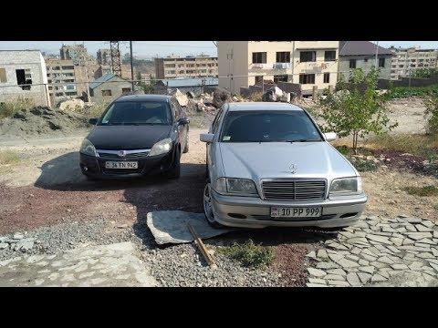 Разница температур серебристой и черной машин под солнцем