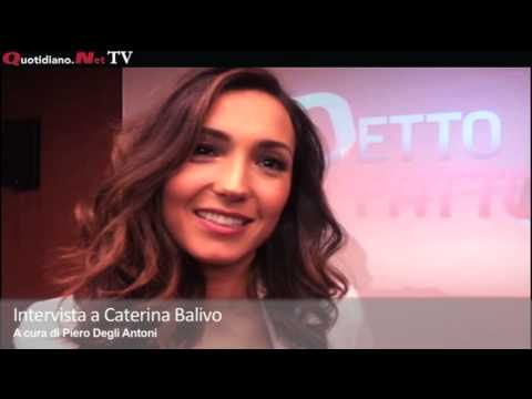Intervista a Caterina Balivo