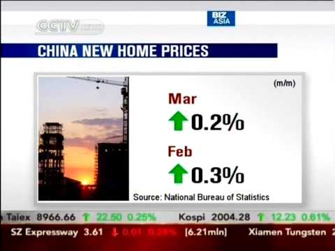 Growth for China's new home prices slows to 7.7% y/y in March