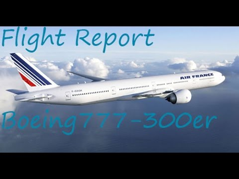✈FLIGHT REPORT✈ Pointe-à-Pitre to Orly Air France B777-300er Economy Class