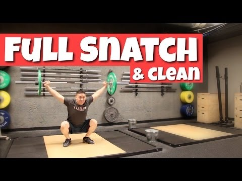 How to do a Full Clean and Snatch for Crossfit Image 1