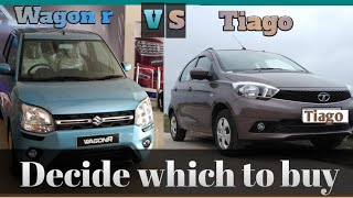 MARUTI WAGON R VS TATA TIAGO || DECIDE WHICH TO BUY