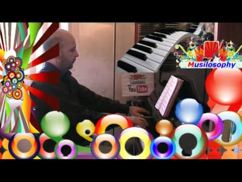 Balla balla ballerino Lucio Dalla : musica pianoforte e voce : cover video