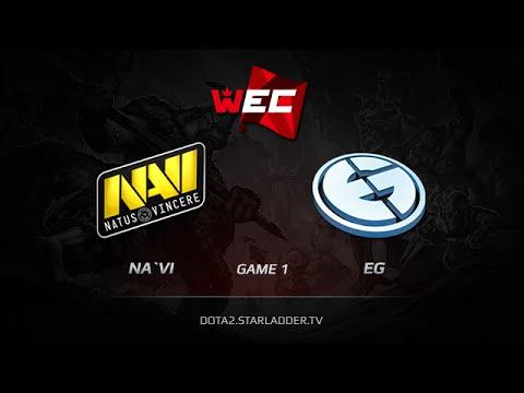 Na`Vi vs Evil Geniuses, WEC Lan-Finals, LB Round 2, Game 1
