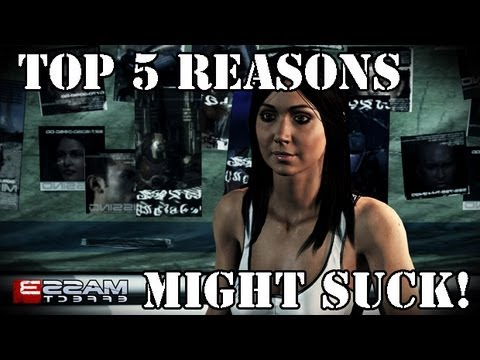 Top 5 Reasons Mass Effect 3 Sucks!