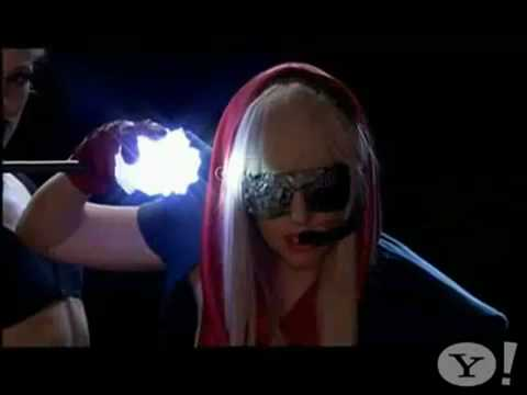 Lady GaGa-Just Dance(Live @ Yahoo Critical Eye) Music Videos
