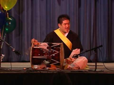Korean Changgo Drum Solo
