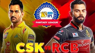 CSK VS RCB – Who will WIN? | Fantasy league Prediction | IPL 2019